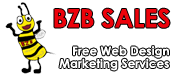 BZB Sales Free Web Design Logo